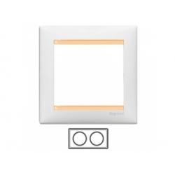 2-rámik, biely/bežový 774482