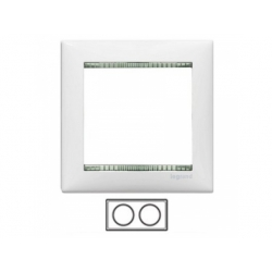2-rámik, biely/priesvitný 774462