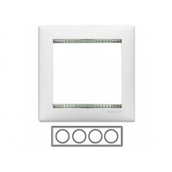 4-rámik, biely/priesvitný 774464