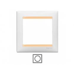 1-rámik, biely/béžový 774481
