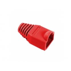 Kryt pre konektor RJ45 8P8C, červený