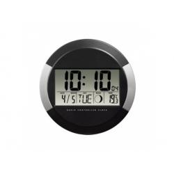 PP-245 nástenné digitálne hodiny riadené rádiovým signálom DCF