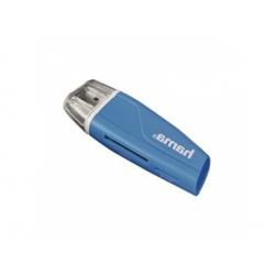 SD/microSD čítačka pamäťových kariet, modrá