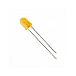 LED 5mm 20mcd, žltá