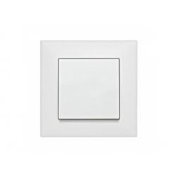 EV106001 vypínač č.1, biely, pružinové svorky