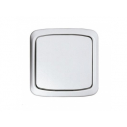 3558A-06940 B vypínač č.6, IP44, biely