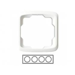 4-rámik, biely 3901A-B40 B