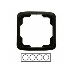 4-rámik, čierny 3901A-B40 N