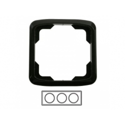 3-rámik, čierny 3901A-B30 N