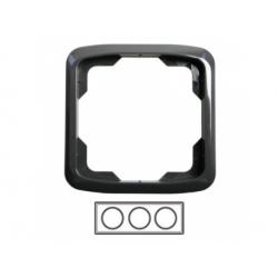 3-rámik, dymová sivá 3901A-B30 S2