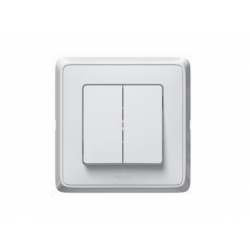 773805 Cariva vypínač č.5, biely