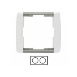 2-rámik, biela/ľadová sivá 3901E-A00120 04