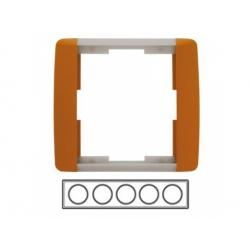 5-rámik, karamelová/ľadová sivá 3901E-A00150 07