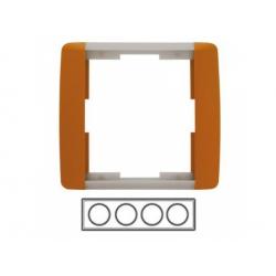4-rámik, karamelová/ľadová sivá 3901E-A00140 07