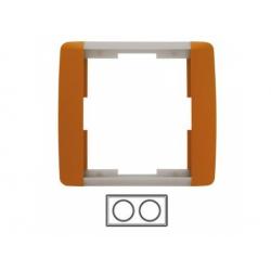 2-rámik, karamelová/ľadová sivá 3901E-A00120 07