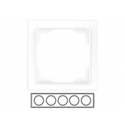 5-rámik, biely, 3901M-A00150 03