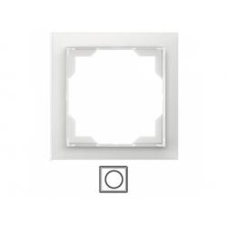 1-rámik, ľadová biela, 3901M-A00110 01