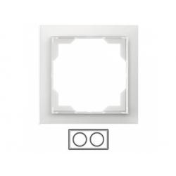 2-rámik, ľadová biela, 3901M-A00120 01