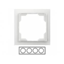 4-rámik, ľadová biela, 3901M-A00140 01