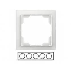 5-rámik, ľadová biela, 3901M-A00150 01