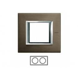 2-rámik, bronz brúsený, HA4802M2HBR