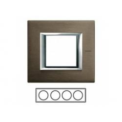 4-rámik, bronz brúsený, HA4802M4HBR