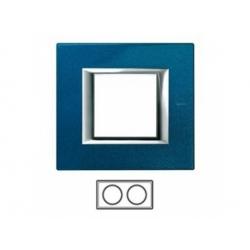 2-rámik, modrý meissen, HA4802M2HBM