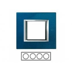 4-rámik, modrý meissen, HA4802M4HBM