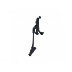 Univerzálny držiak na telefón do auta, ohybné rameno, nabíjanie cez USB, 1500mAh, čierny