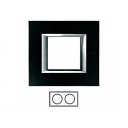 2-rámik, sklo čierne, HA4802M2HVNN