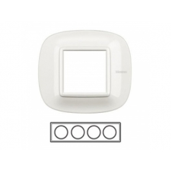 4-rámik, axolute biely, HB4802M4HD