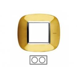 2-rámik, zlato lesklé, HB4802/2OR