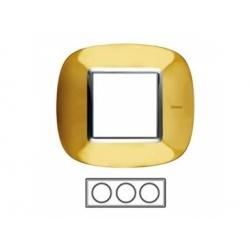 3-rámik, zlato lesklé, HB4802/3OR