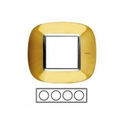 4-rámik, zlato lesklé, HB4802/4OR