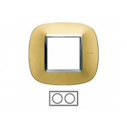 2-rámik, zlato matné, HB4802/2OS