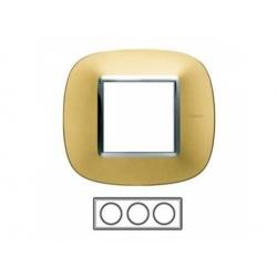 3-rámik, zlato matné, HB4802/3OS