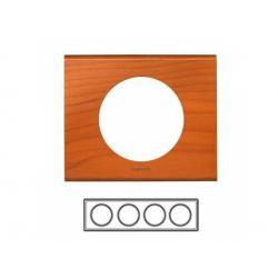 4-rámik, drevo céder